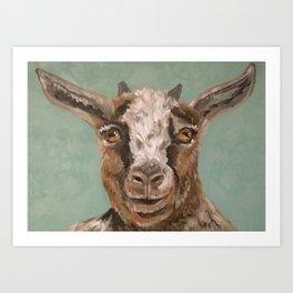 Nursery Art / Decor - Barnyard Baby Goat Art Print