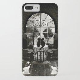 Room Skull B&W iPhone Case