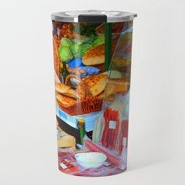 Croatian Food Market Travel Mug