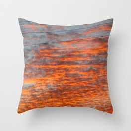 Catharsis in the Clouds Throw Pillow