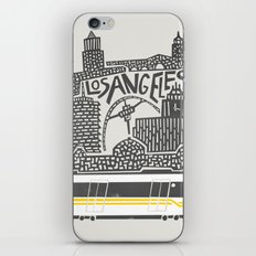 Los Angeles City Print iPhone & iPod Skin