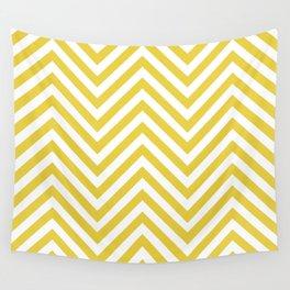 Mustard Chevron Wall Tapestry