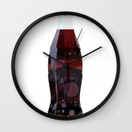Cola Bottle Wall Clock