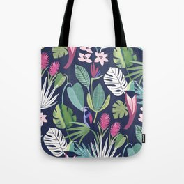 Night Rainforest Tote Bag
