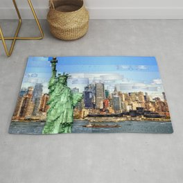 City of New York - Statue of Liberty Rug