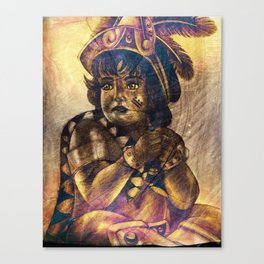 Little Native Canvas Print