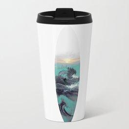 Surfboard Metal Travel Mug