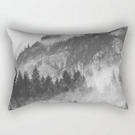 Vancouver Fog B&W Rectangular Pillow