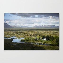 Thingvellir Park - Iceland Canvas Print