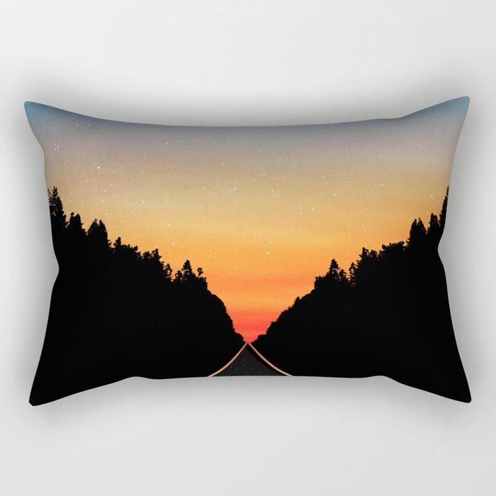 Keep Walking Don't Stop Rectangular Pillow