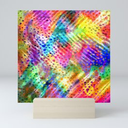 Rainbow Happiness Mini Art Print
