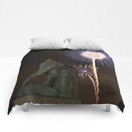 Fisherman's Memorial fireworks Comforters