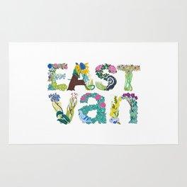 East Van colour Rug