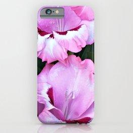 Sassy Gladiola iPhone Case