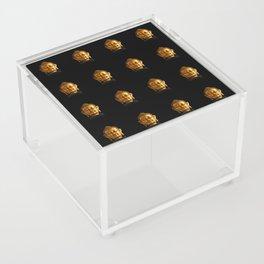 Budhha Golden Head by Lika Ramati Acrylic Box