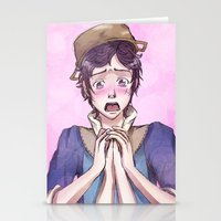 fire emblem awakening Stationery Cards featuring Donnel - Fire Emblem Confession by Audienta