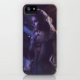 Lady harmonia iPhone Case
