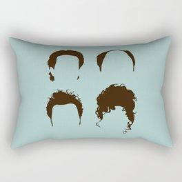 Seinfeld Hair Square Rectangular Pillow