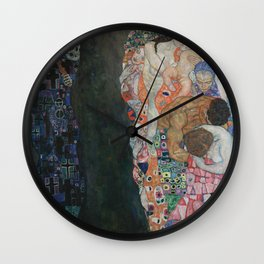 Death and Life Wall Clock
