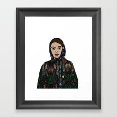 No Ban No Wall | Art Series - The Jewish Diaspora 004 Framed Art Print