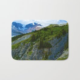 Views along the Wilcox Pass Hike in Jasper National Park, Canada Bath Mat