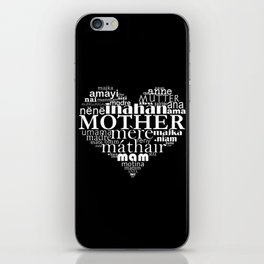 Mother (inverted) iPhone Skin