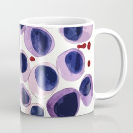 Blood Cells inspired illustration Coffee Mug