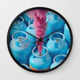 Positive Leak Wall Clock