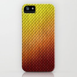 Halloween Fire Dragon Scale Mail Armor Costume iPhone Case