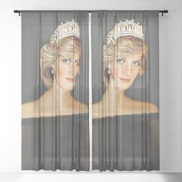 PRINCESS DIANA - PRINCESS OF WALES Sheer Curtain