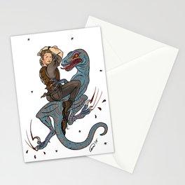 Jurassic World Pin-Ups ~ Owen Grady Stationery Cards
