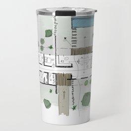 Architecture Plan Travel Mug