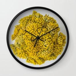 curry flowers II Wall Clock