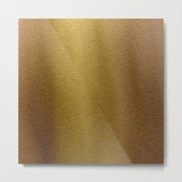 Faux Bronze Gold Metal Print