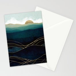Indigo Waters Stationery Cards