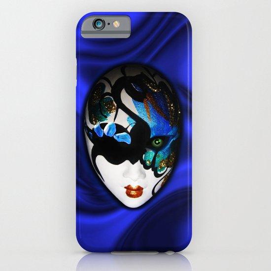 Blue Velvet Venice Mask  iPhone & iPod Case