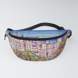Neuschwanstein Gingerbread and Candy Fanny Pack