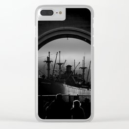 The SS Jeremiah O'Brien Clear iPhone Case