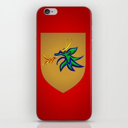 Dragonfire Knot iPhone Skin
