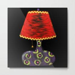 Lamp II Metal Print