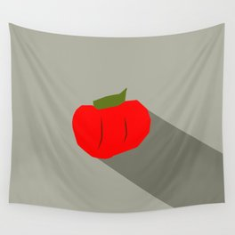 Vegetable Pick Game Icon Tomato  Wall Tapestry