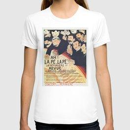 Paris 1895 Revue La Pepiniere T-shirt