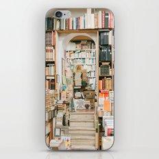 Old Roman Book Shop iPhone & iPod Skin