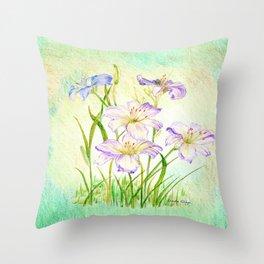 Carmen Renee Day Lilies Throw Pillow