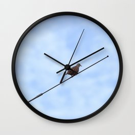 Passarinho Wall Clock