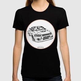 Crazy Car Art 0196 T-shirt