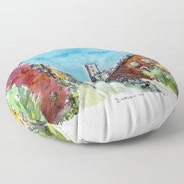 Montreal Autumn Floor Pillow