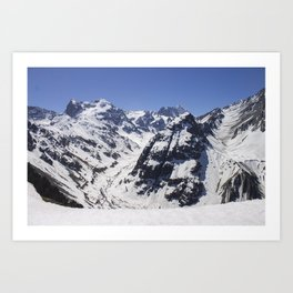 Valley of Arenas Art Print