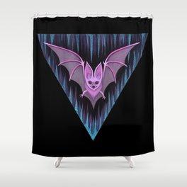 Through the Vortex Flow Shower Curtain