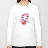 valentina Long Sleeve T-shirts featuring Valentina by Sandra Vargas